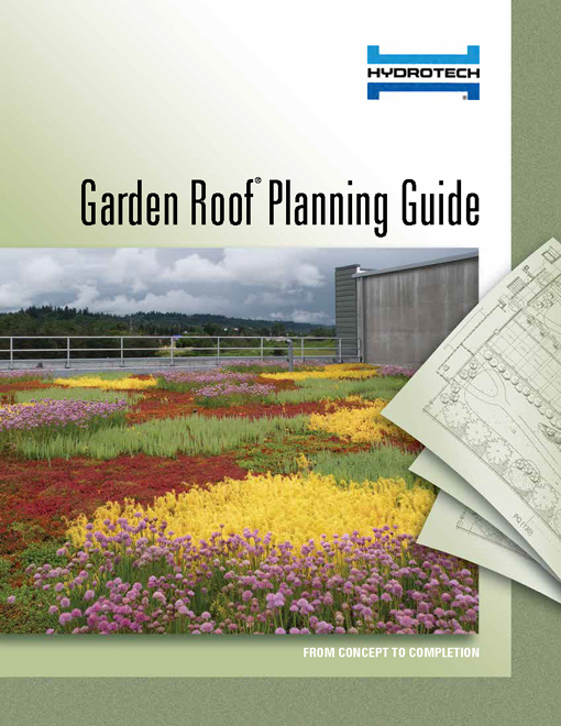 American hydrotech inc green roofs garden roofs for Garden planning guide