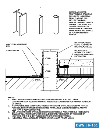 American Hydrotech Inc Green Roofs Garden Roofs Monolithic Membrane 6125 Waterproofing