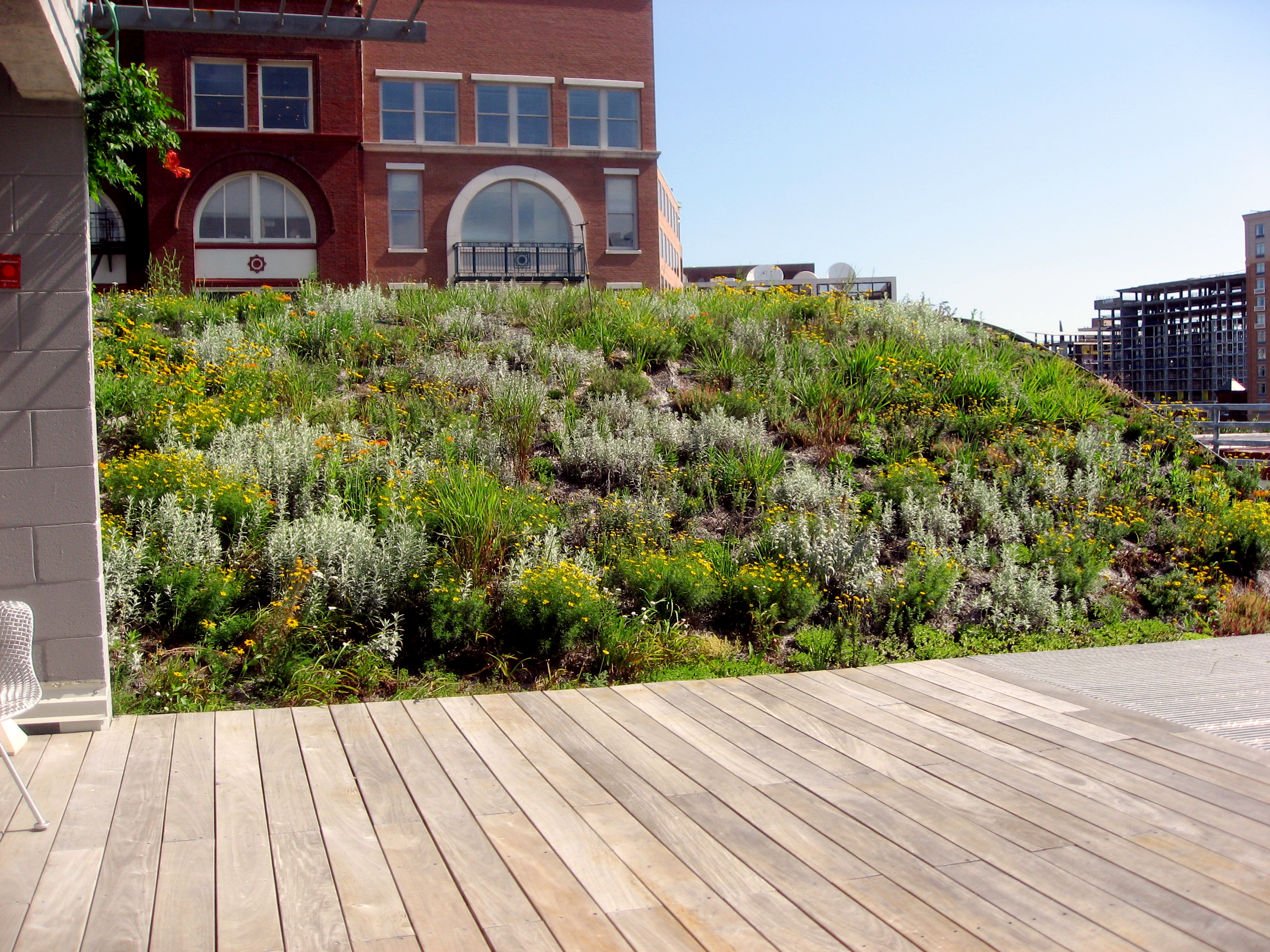american hydrotech inc green roofs garden roofs monolithic american society of landscape architects headquarters
