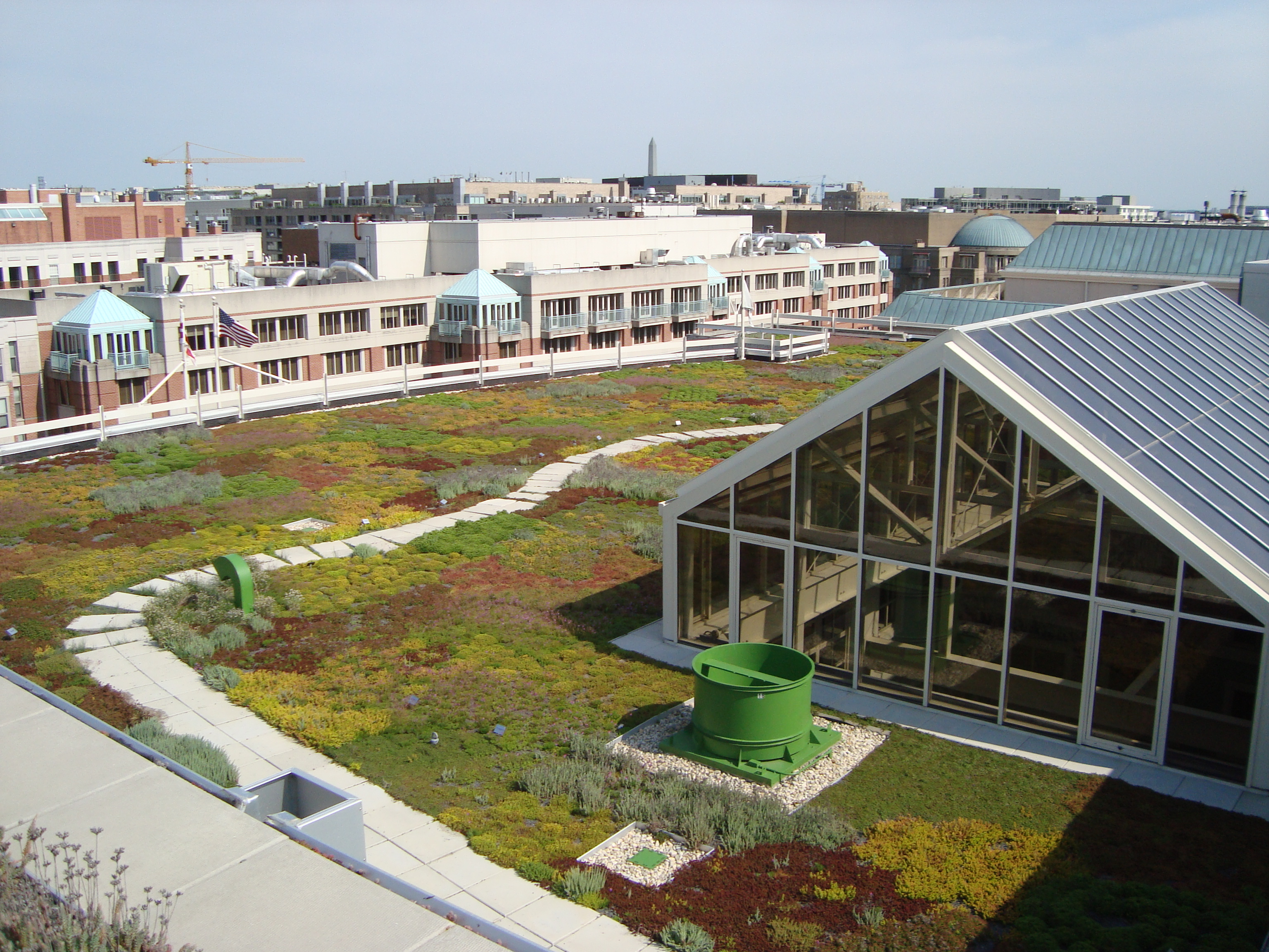 Vegetated Roofs And Stormwater American Hydrotech Inc