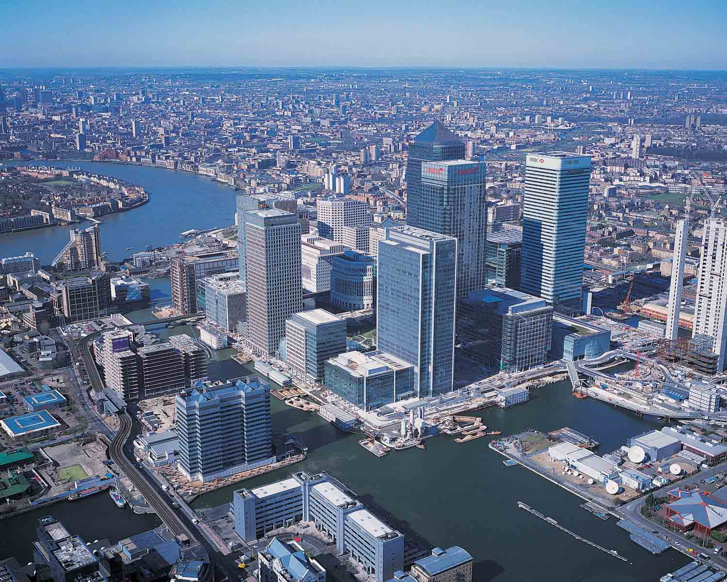 Green Roof Systems Canary Wharf (Multiple Buildings) - American Hydrotech, Inc.