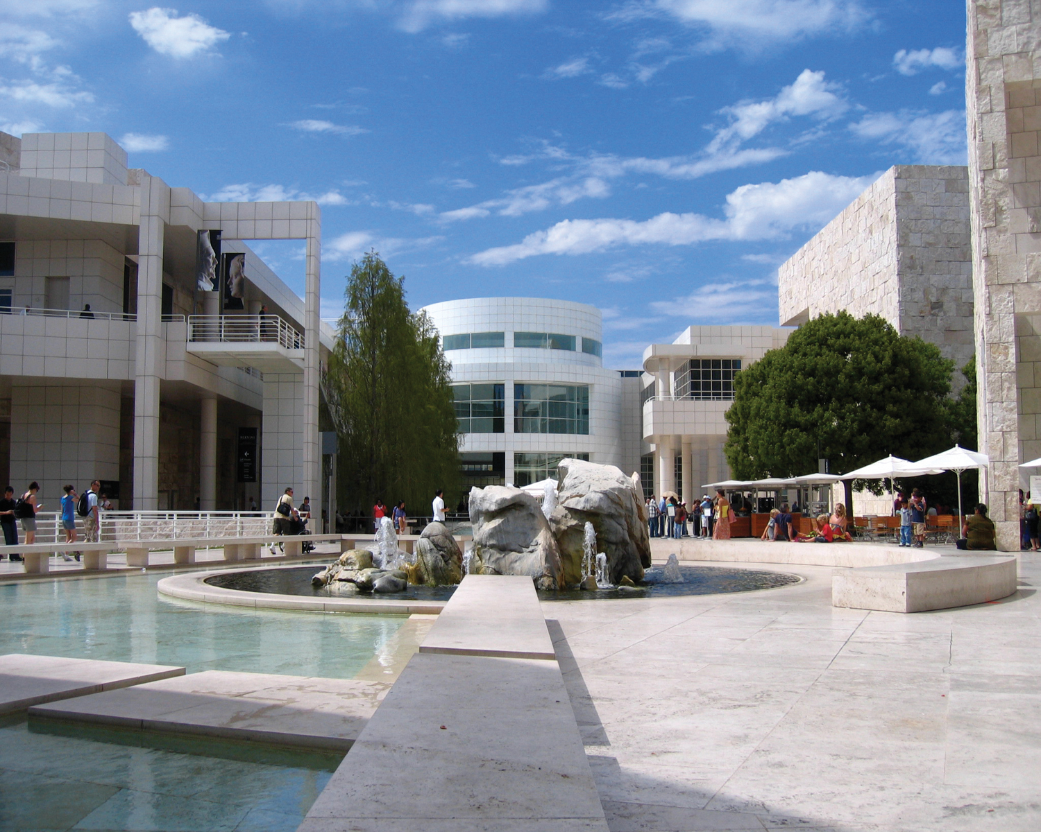 The Getty Center American Hydrotech Inc