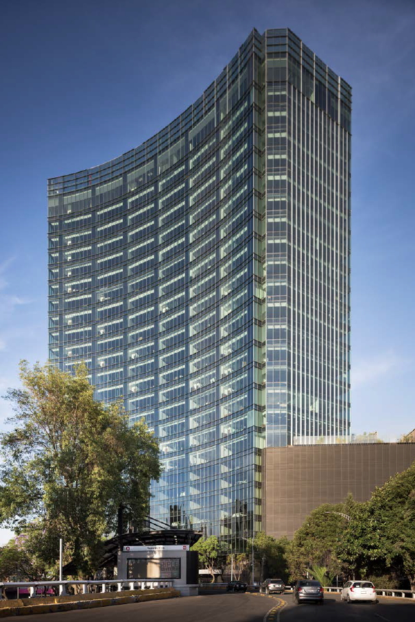 Glorieta Insurgentes Tower American Hydrotech Inc