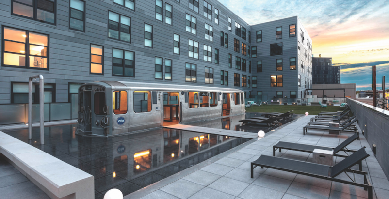 The L Luxury Apartments American Hydrotech Inc