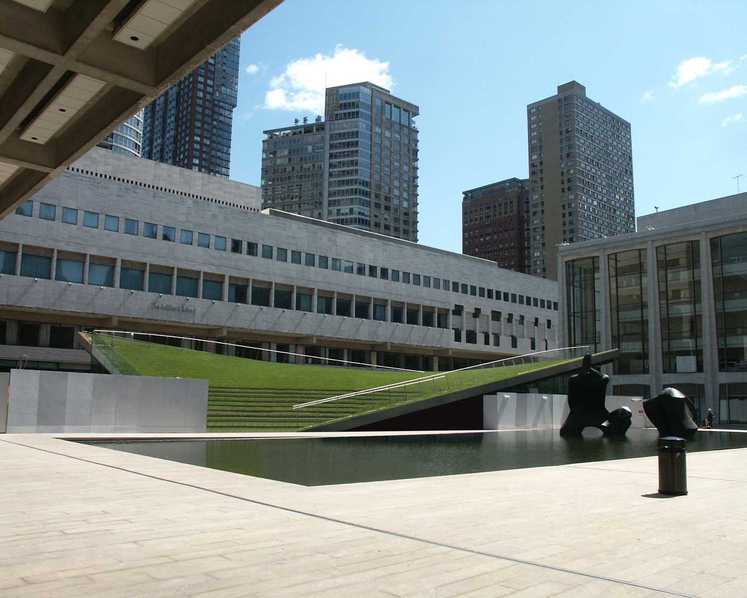 Hypar Pavilion At Lincoln Center American Hydrotech Inc