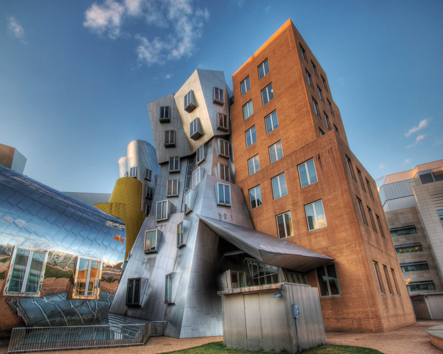 The Home Designers Mit Stata Center American Hydrotech Inc