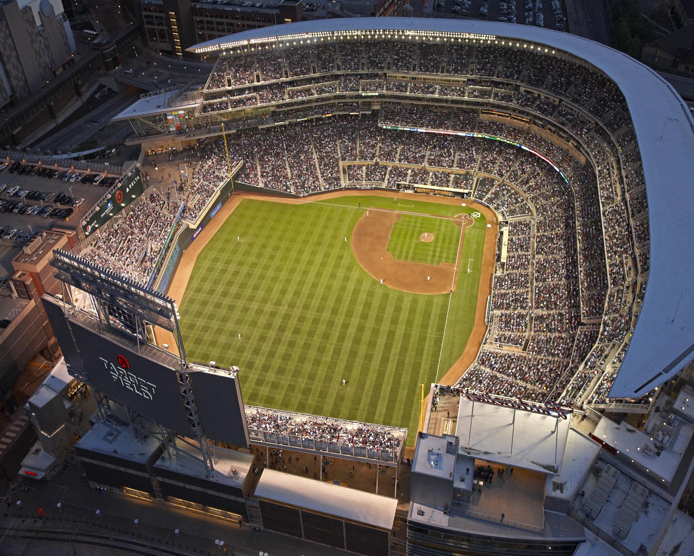 Target Field Minnesota Twins Ballpark American