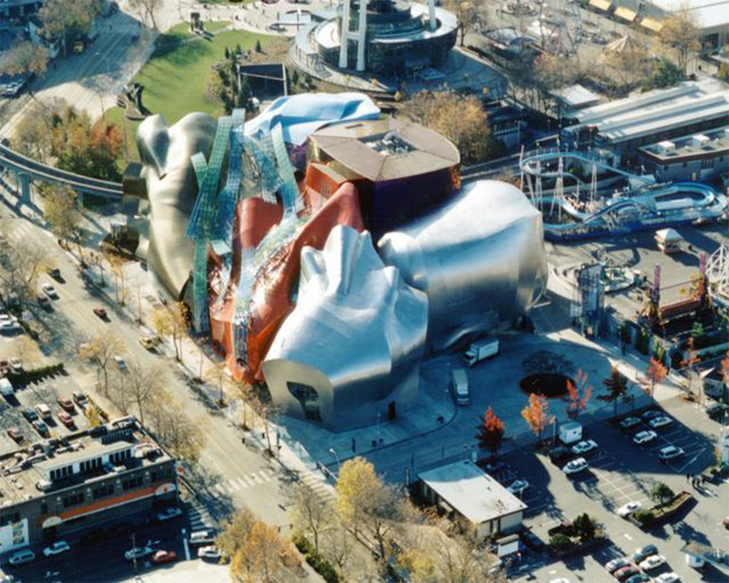 Experience Music Project on frank o gehry